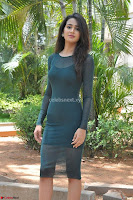 Simran Choudhary Cute beauty with dimples in transparent Green Tight Short Dress ~  Exclusive 011.jpg