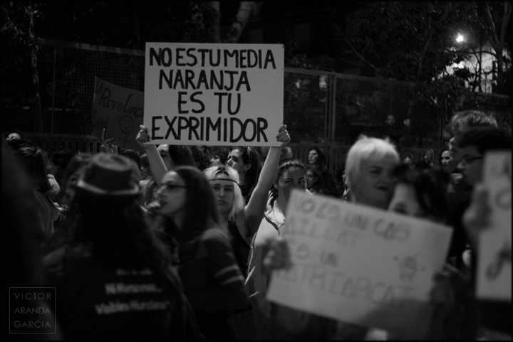 manifestación,feminista,8M,Murcia,fotografia,retrato
