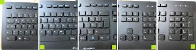 Tasten: LOGITECH K280e corded Keyboard USB black for Business, QWERTZ, deutsches Layout