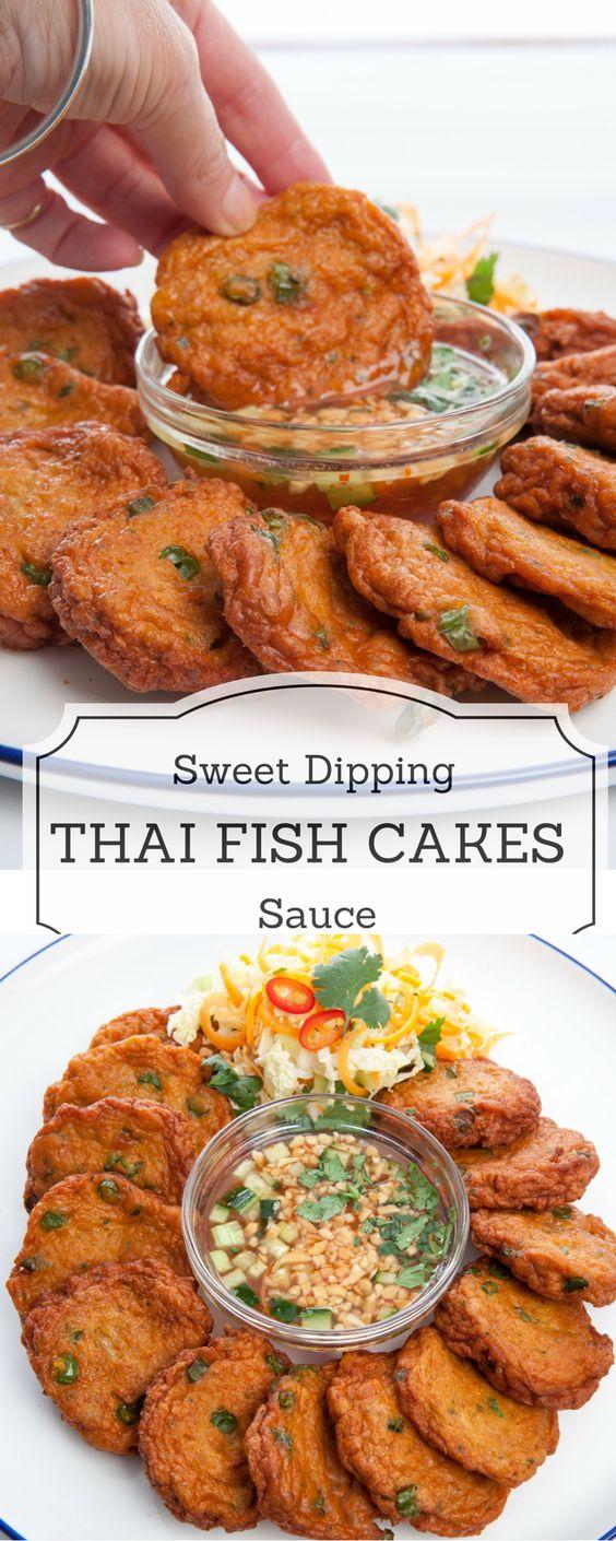 Homemade Thai Fish Cakes -Tod Mun Pla