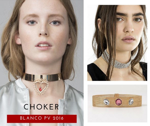 choker accesorio primavera verano 2016 blanco