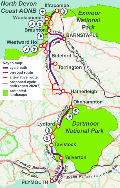 The Cycling Dutchman Devon Coast To Coast