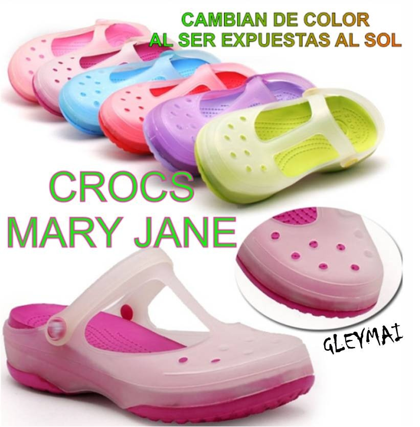 CucutaSandalias Mary Crocs Jane Camaleon CBdrxQoeWE