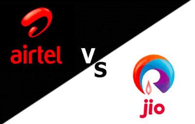 Airtel 4G Vs Reliance Jio 4G