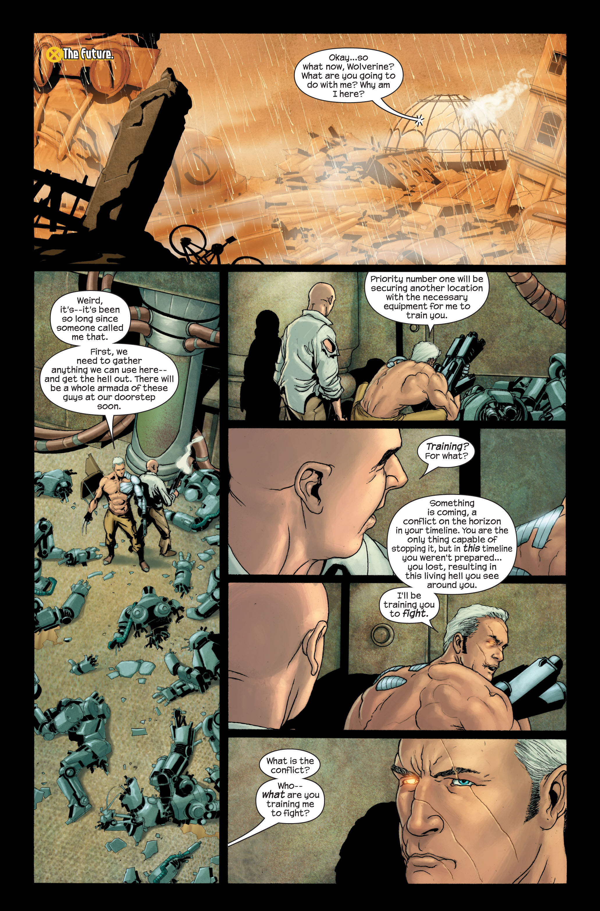 Read online Ultimate X-Men comic -  Issue #88 - 21