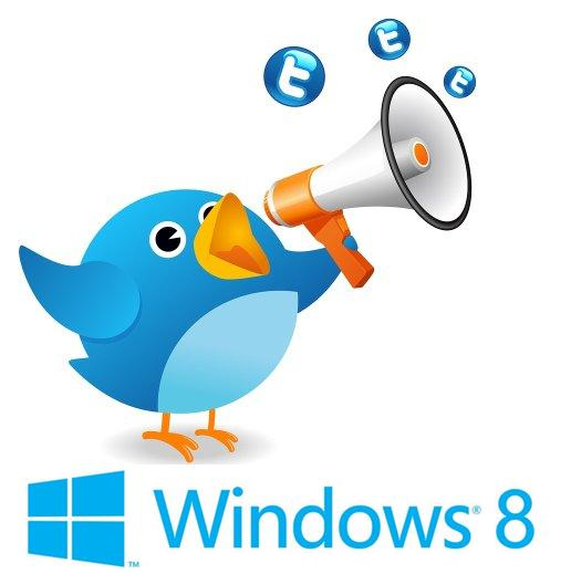 Twitter for Windows 8 bins in the Windows Store