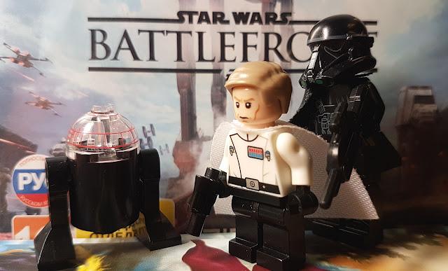 Director Krennic, death trooper, Star Wars Battlefront, lego