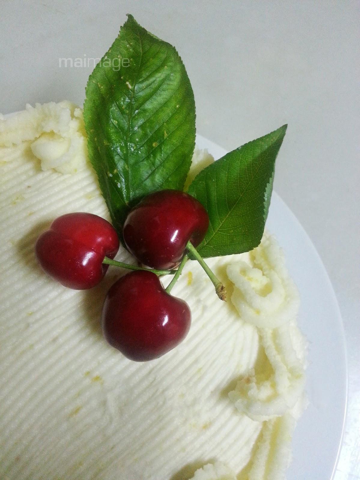 il colore della curcuma ciliegie EVOLUTION Pastis de neu i cireres