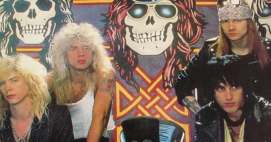 Rock Anthology Guns N Roses Welcome To The Sessions