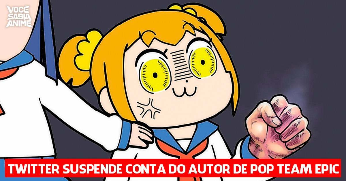 Twitter suspende conta do autor de Pop Team Epic