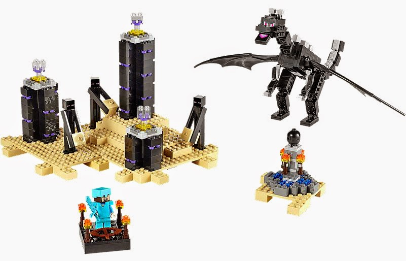 The New LEGO Minecraft sets overview The Ender Dragon 21117