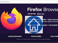 Rilis Mozilla terbaru - Versi 72. Awal tahun 2020