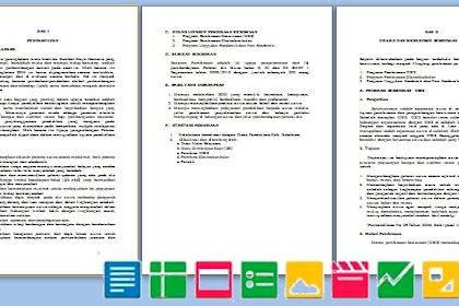 Contoh Program Kerja Kesiswaan SMP SMA MA SMK | Berkas Sekolah