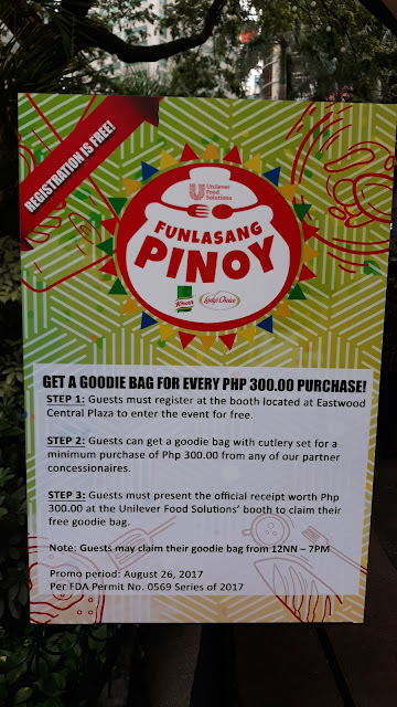 Filipino Chefs Compete at the First-ever Funlasang Pinoy Twist Fest! Chefs and cooks from across the country unleash their creativity in putting a twist in classic Filipino dishes. There's an exciting line-up of dishes which include sisig pasta with salted egg, kalderetang tinali  sa pancit, and shrimp sinigang fried rice...