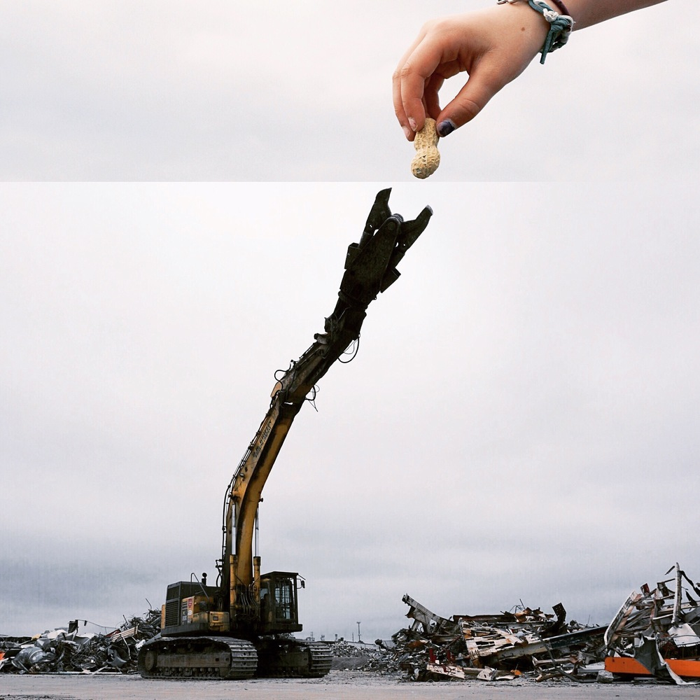 10-Peanut-Metal-Crushing-Excavator-Stephen-Mcmennamy-Mash-up-Photographs-with-Combophotos-www-designstack-co