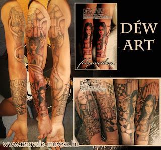 Alice tetoválás Déw art szeged