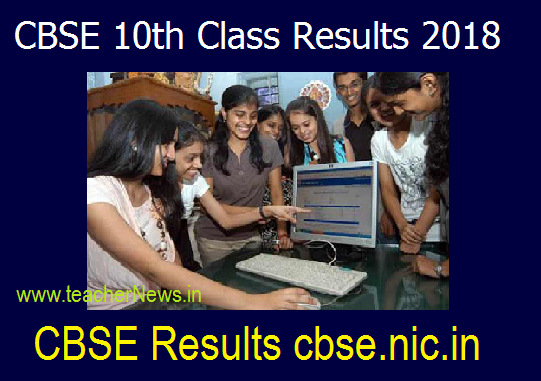 CBSE 10th Class Results 2018 at cbse.nic.in – Check CBSE Results, Marks List