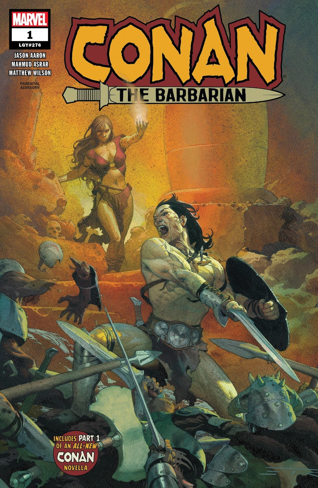 Conan the Barbarian (2019) issue 1 - Page 1
