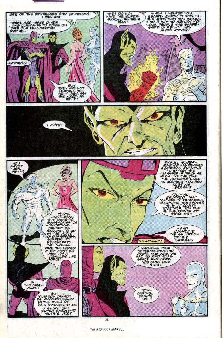 Read online Silver Surfer (1987) comic -  Issue #25 - 40