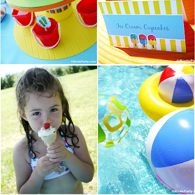 Pool Party Ideas & Kids Summer Printables