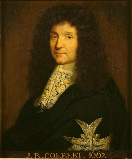 Colbert, bourgeois et principal ministre de Louis XIV