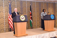 We did it! Secretary of State, REX TILLERSON, reveals the US' role in yesterday's meeting between UHURU and RAILA