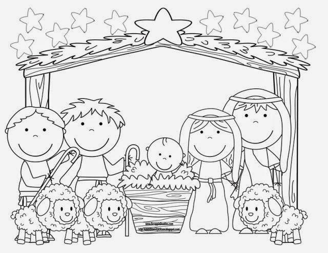 jogo desenhos para colorir o nascimento de jesus 23 pÁginas no