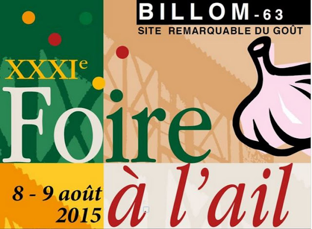 Foire à l'Ail de Billom, Auvergne.