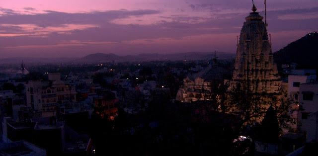 Udaipur at sunrise