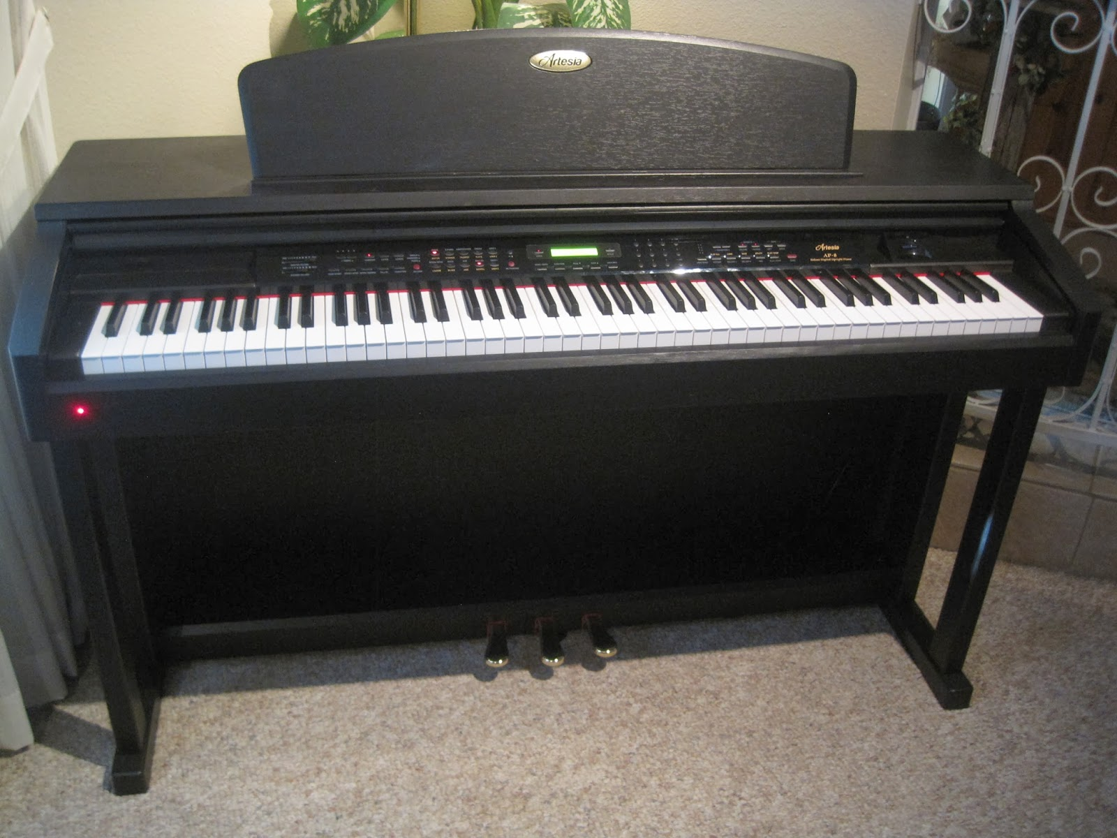 az piano reviews review digital pianos under 1000 go here. Black Bedroom Furniture Sets. Home Design Ideas