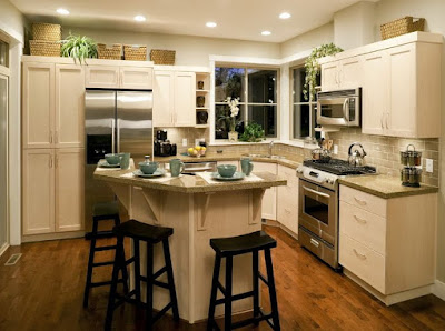 What are some unique kitchen design ideas