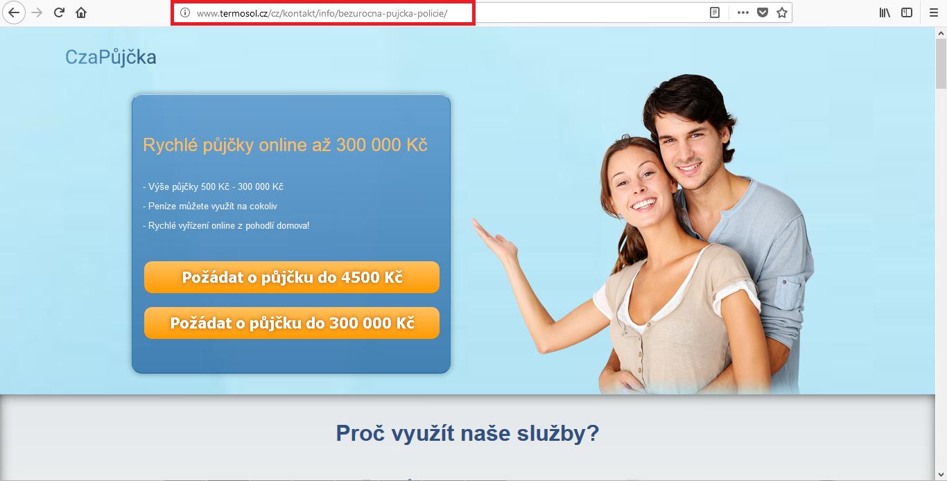 Online nebankovní rychlé pujcky ihned trutnov cz