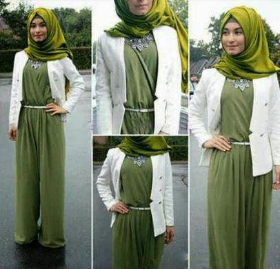 Contoh baju muslim untuk aktifitas sehari-hari