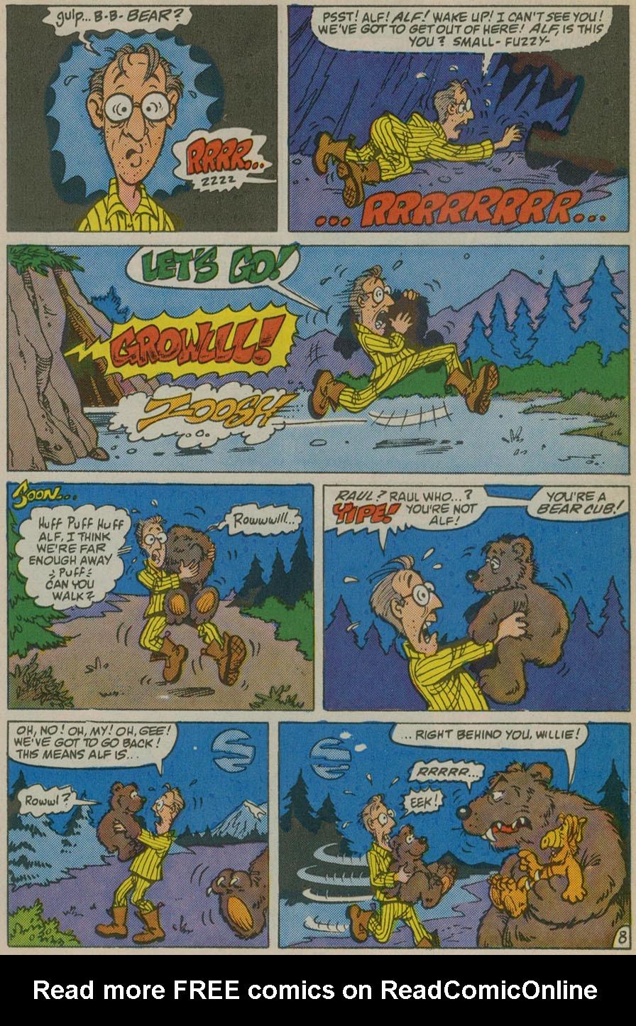 Read online ALF comic -  Issue # _Annual 1 - 21