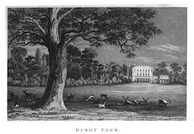 Bushy Park from The History of the Life and Reign   of William IV by Robert Huish (1837)
