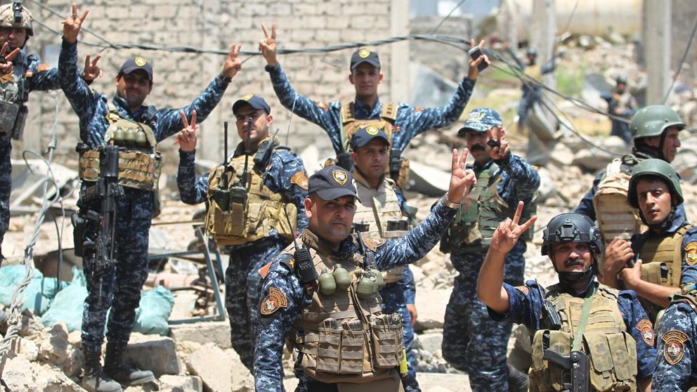 Hay 100 mil atrapados tras la línea del Estado Islámico