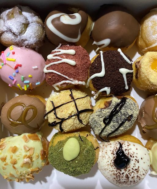 Bite-size CADEN Handcrafted Donuts