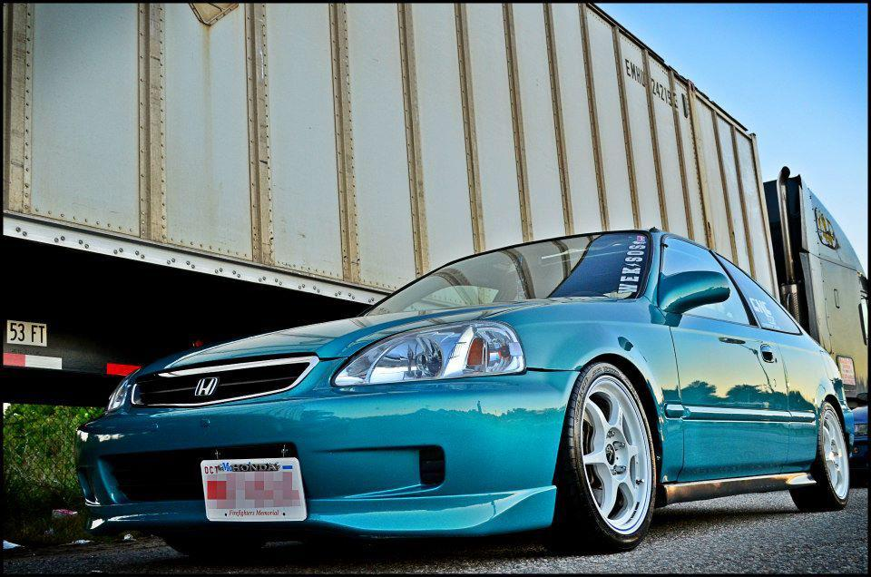 Modified Cars: JDM modified Honda Civic