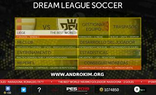 تحميل لعبة Dream League Soccer 2019 للاندرويد مود PES  2019 بحجم 150 ميغابايت