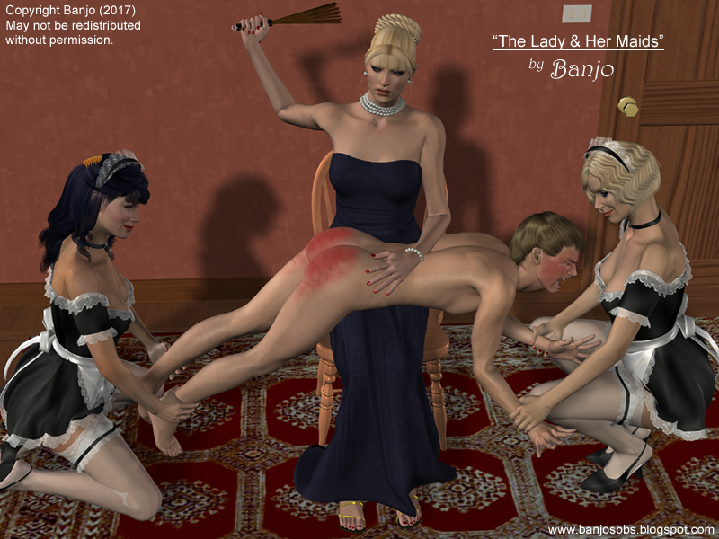 Accept. opinion, Bare bottom otk spanking drawings