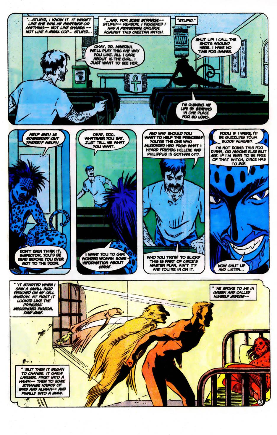 Read online Wonder Woman (1987) comic -  Issue #61 - 5