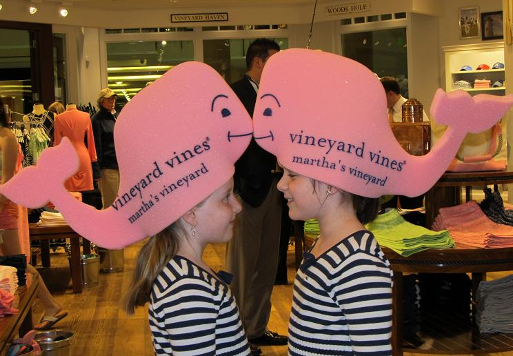 Maryland Pink And Green Vineyard Vines Party At Tysons