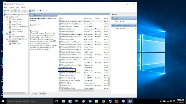"""এরপর এরপর আপনি স্ক্রলিং করে নিচে নামুন। দেখবেন """"Windows Update"""" নামে সেখানে একটি অপশন রয়েছে। সেখানে ক্লিক করুন।"""