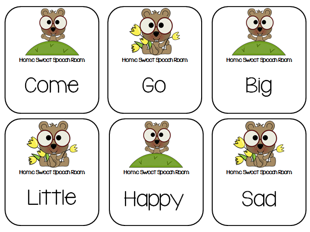 Groundhog Day Synonym and Antonym Cards | <!--Can't find