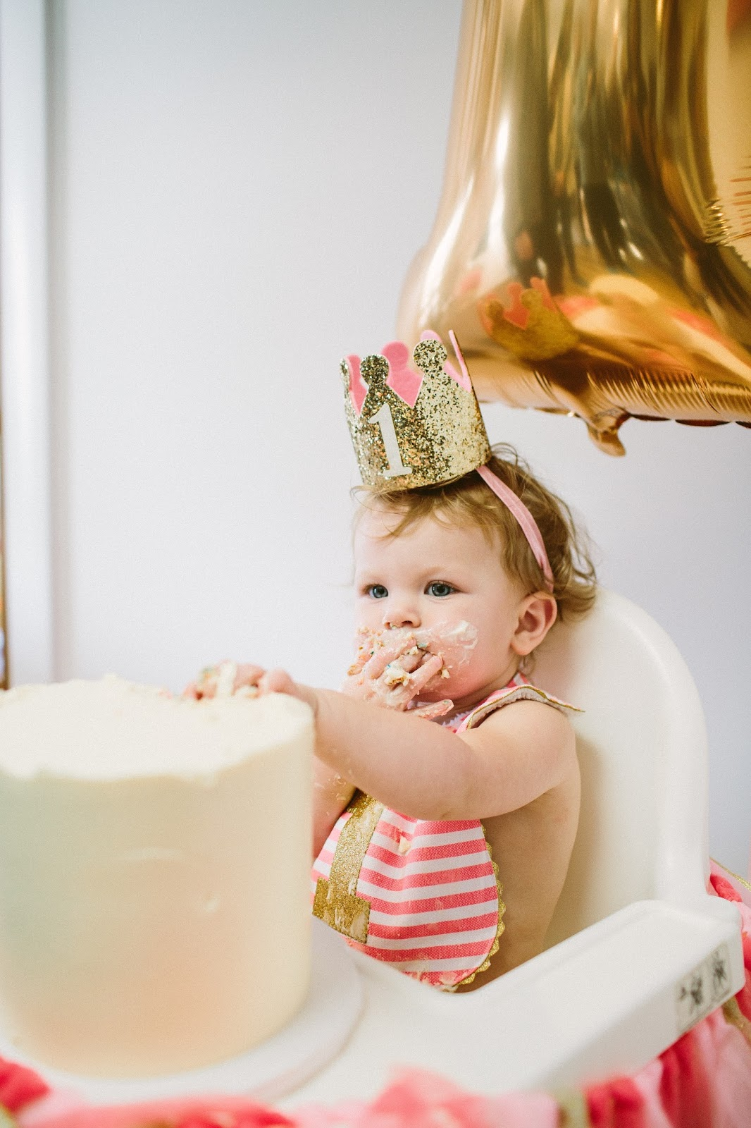 1 Birthday crown, smash cake, first birthday party ideas