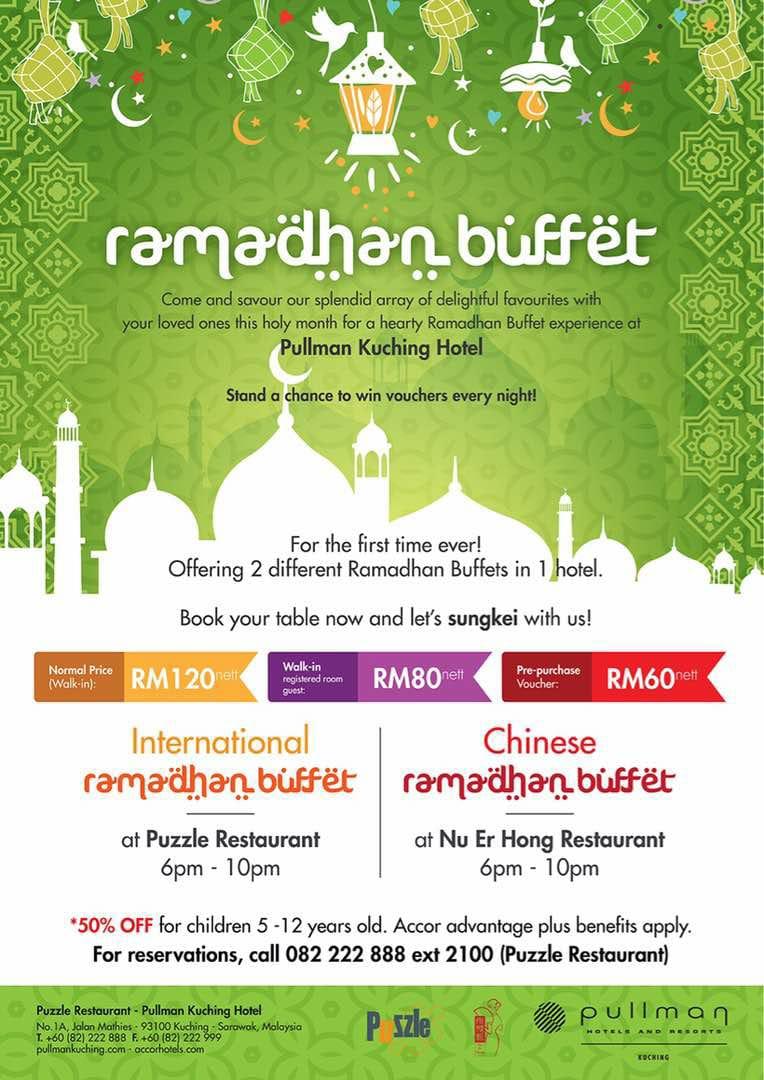 buffet ramadhan pullman kuching, sarawak