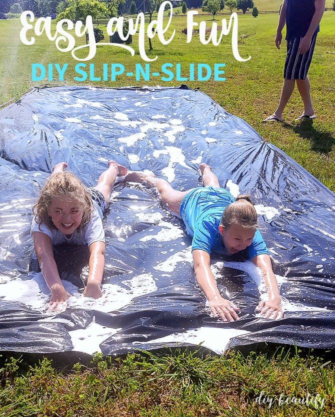 easiest slip n slide to make