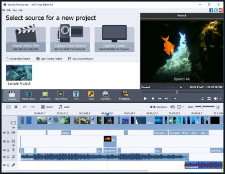 برنامج, محرر, الفيديوهات, الإحترافى, للكمبيوتر, AVS ,Video ,Editor