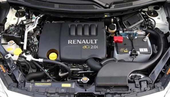 2017 Renault Koleos Engine