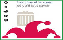 """Livre PDF """" Les virus et le spam ce qu'il faut savoir """""""